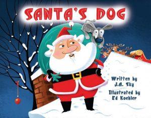 """Alt=""""santa's dog"""""""